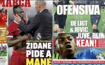 Sadio Mané à la Une de MARCA: «Zidane pide a Mané*»
