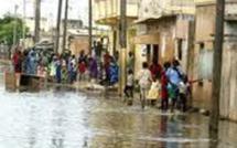 A Mbour, le Stade municipal envahi par les eaux de pluie