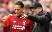 """Liverpool - Jürgen Klopp et la """"saison exceptionnelle"""" de Virgil van Dijk"""