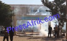 Affrontements à l'Ucad: Ça chauffe entre forces de l'ordre et étudiants