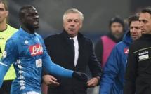 Naples de Kalidou Koulibaly contraint de jouer la prochaine Ligue des Champions à Bologne