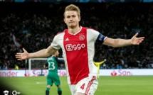 Le Barça et l'Ajax presque d'accord pour le transfert de De Ligt