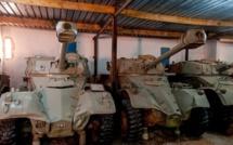Importantes quantités d'armes découvertes en Algérie
