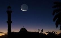 La lune aperçue à Touba