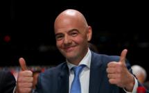 Gianni Infantino réélu à la tête de la Fifa
