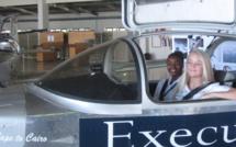 Des adolescents sud-africains tentent d'aller du Cap au Caire dans un avion fait maison