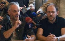 France: manifestation à Belfort pour la défense des emplois General Electric
