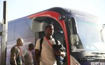 """#SENALG - Les """"Lions"""" sont arrivés au stade 30 juin du Caire (Photos)"""
