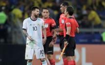 #Copa América : Lionel Messi particulièrement furieux après l'arbitre équatorien de la rencontre