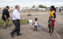 Mozambique: le secrétaire général de l'ONU au chevet des populations sinistrées