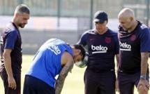 Messi touché mollet droit est forfait pour la tournée aux USA