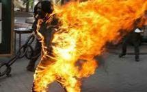 Tunisie, un homme s'immole par le feu à Gafsa, sur fond de crise sociale