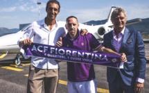 Frank Ribéry signe à la Fiorentina