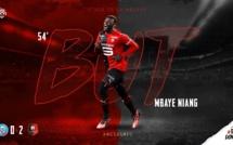 Ligue 1: Mbaye Niang enchaîne avec un deuxième but, Rennes leader