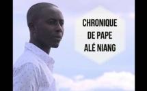 """Pape Alé Niang raille Macky dans sa chronique: """"maintenant on le surnomme demi-dieu"""""""
