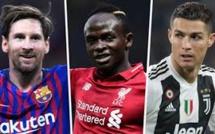 Trophée Uefa : Sadio Mané se hisse à la deuxième derrière Lionel Messi