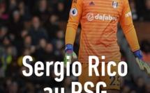 Le PSG annonce l'arrivée du gardien de but Sergio Rico