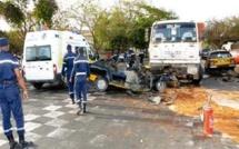 Louga: un mort et 20 blessés dans un choc entre un camion et un bus