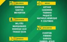 Liste du Brésil pour les matchs contre le Sénégal et le Nigéria: Neymar et tous les cadres convoqués