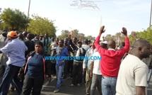 VIDEO - Des jeunes surexcités prêts à marcher sur le palais présidentiel