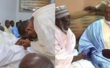 Me Abdoulaye Wade arrive à Massalikoul Jinaan sous les acclamations des fidèles au même moment que le Président Macky Sall