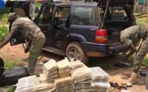 391 kilogrammes de chanvre indien saisis par les Douaniers de Karang