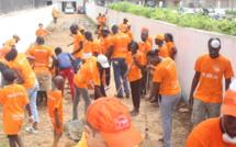 """La """"#Green_Day de PEG Sénégal avec les habitants du quartier Sud Foire"""