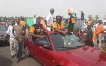 Côte d'Ivoire : Les Eléphants chaleureusement accueillis malgré la défaite