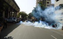 Manifestation à la place de l'Indépendance: Plus de cinq (5) jeunes arrêtés et des blessés