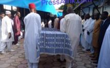 (Images) Hôpital principal: plusieurs autorités amis et proches présents à la levée du corps du fils de ABC
