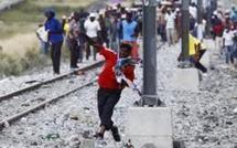 Afrique du Sud: 350 arrestations après les échauffourées à la mine d'Impala Platinum