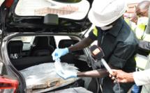 Saisie en 4 mois de 2.486 Kg de cocaïne d'une valeur de plus de 1.000 milliards FCFA