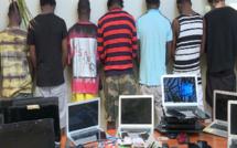 Cybercriminalité: 50 malfrats dont des Nigérians mis aux arrêtes par la Gendarmerie