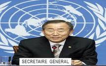 Scrutin présidentiel: Ban Ki-Moon magnifie la conduite des sénégalais et souhaite le même esprit pour le second tour