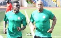 Vidéo: Elhadji Diouf, en complicité avec Aliou Cissé, lors de la séance d'entrainement des Lions
