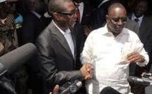 Youssou Ndour avec Macky Sall chez les sportifs