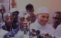 PDS: Me Amadou Sall reçoit un appel et une délégation de Karim Wade