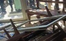 Vidéo - Saccage du tribunal de Louga par les soutiens du maître coranique