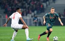 #LigueDesChampions - Lille battu par l'Ajax et éliminé de toute compétition européenne