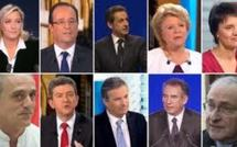 La liste officielle des candidats pour l'élection présidentielle 2012 dévoilée