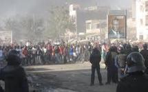 Attaque hostile  au cortège de Wade à Guédiawaye : Notre confrère Gata Doré blessé à la tête