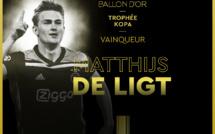 #BallonDor2019 - Matthias De Ligt remporte le trophée Kopa du meilleur jeune