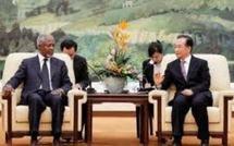 La Chine prête à aider Kofi Annan dans sa mission de médiation avec la Syrie
