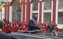 VIDEO – Fête de l'Indépendance : Arrivée « solennelle » du Président Macky Sall