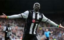 Papiss Demba Cissé, 10 buts au compteur en premier league