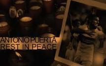 Hommage : Une rue Antonio Puerta à Séville