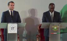 Direct d'Abidjan : suivez la conférence de presse de Alassane Ouattara et Emmanuel Macron