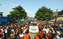 Côte d'Ivoire : pour sa première visite dans l'Ouest, le président Ouattara prône la réconciliation