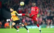 #LIVWOL - Sadio Mané ouvre le score (1-0)
