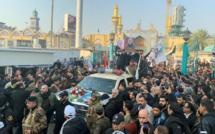 Irak: : tension en marge des obsèques de Soleimani et de Mouhandis